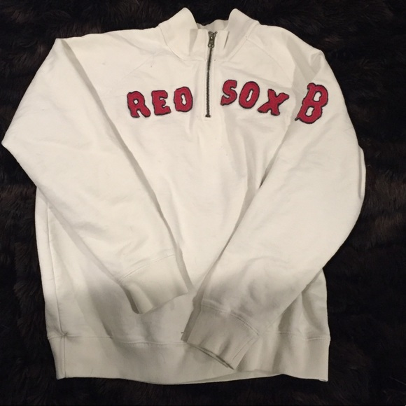 new product 6c124 194d7 Boston Red Sox 3/4 zip sweatshirt - Youth XL